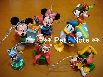 Disney オーナメント