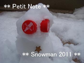 Snowman!?  20110215
